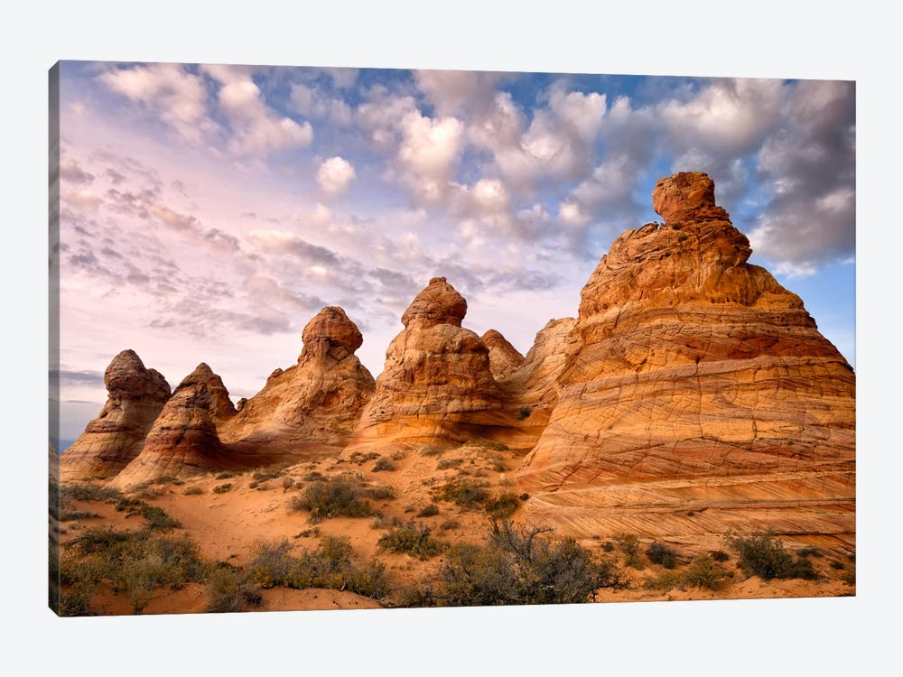 Arizona Peaks I 1-piece Canvas Art Print