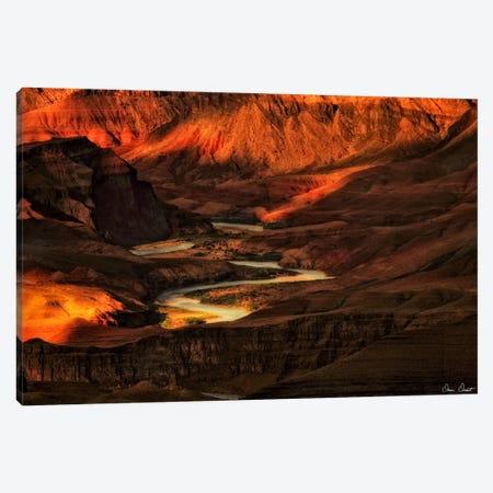 Canyon View I Canvas Print #DDR25} by David Drost Canvas Art Print