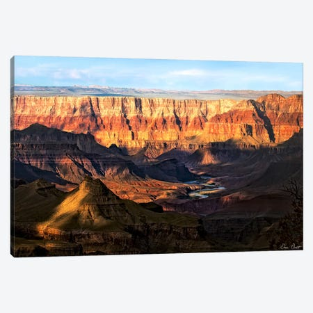 Canyon View II Canvas Print #DDR26} by David Drost Canvas Art Print