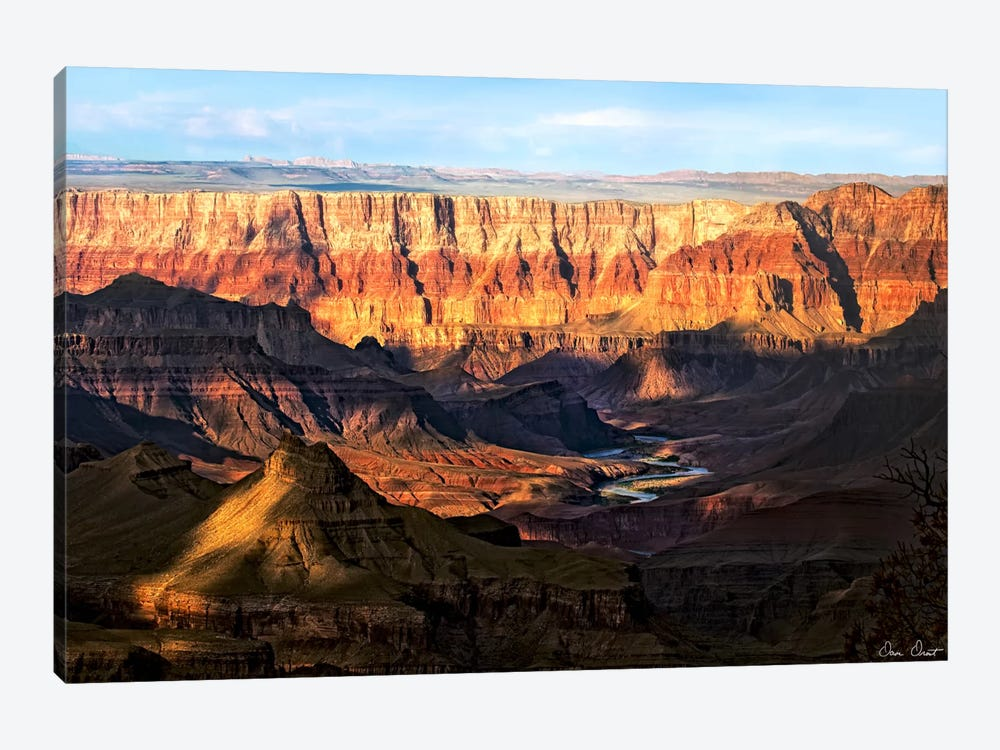 Canyon View II by David Drost 1-piece Art Print