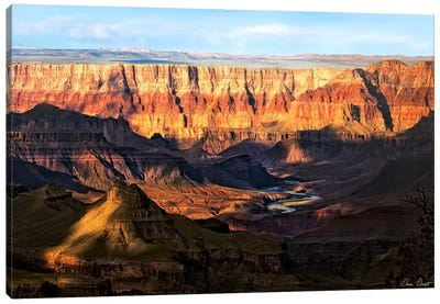 Canyon View II Canvas Art Print