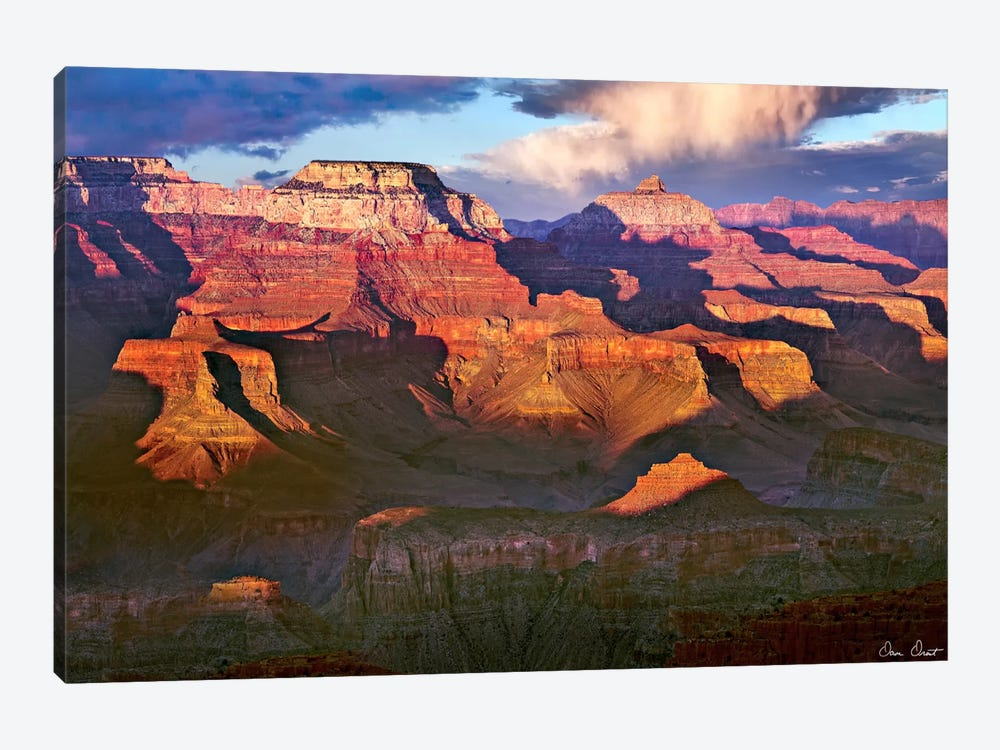 Canyon View III by David Drost 1-piece Canvas Wall Art
