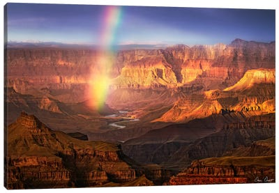Canyon View IV Canvas Art Print