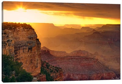 Canyon View IX Canvas Art Print