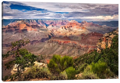 Canyon View VI Canvas Art Print