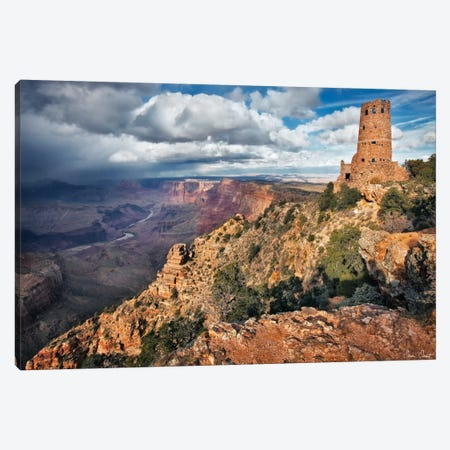 Canyon View VII 3-Piece Canvas #DDR32} by David Drost Canvas Art Print