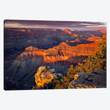 Canyon View X Canvas Print #DDR34} by David Drost Canvas Artwork