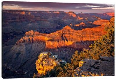 Canyon View X Canvas Art Print
