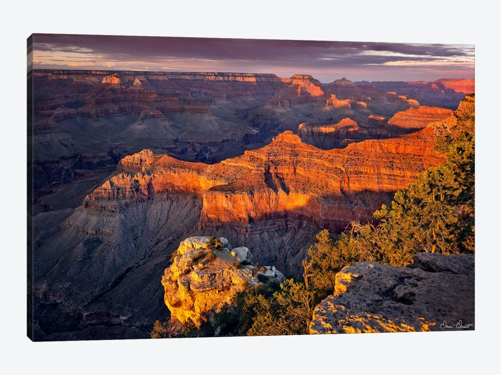 Canyon View X by David Drost 1-piece Canvas Wall Art
