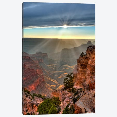 Canyon View XI Canvas Print #DDR35} by David Drost Canvas Wall Art