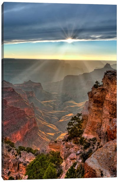 Canyon View XI Canvas Art Print