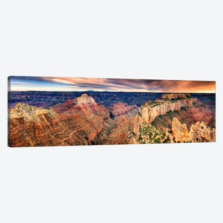 Canyon View XII Canvas Print #DDR36} by David Drost Canvas Art