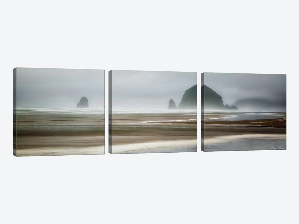 From Cannon Beach I by David Drost 3-piece Canvas Art Print