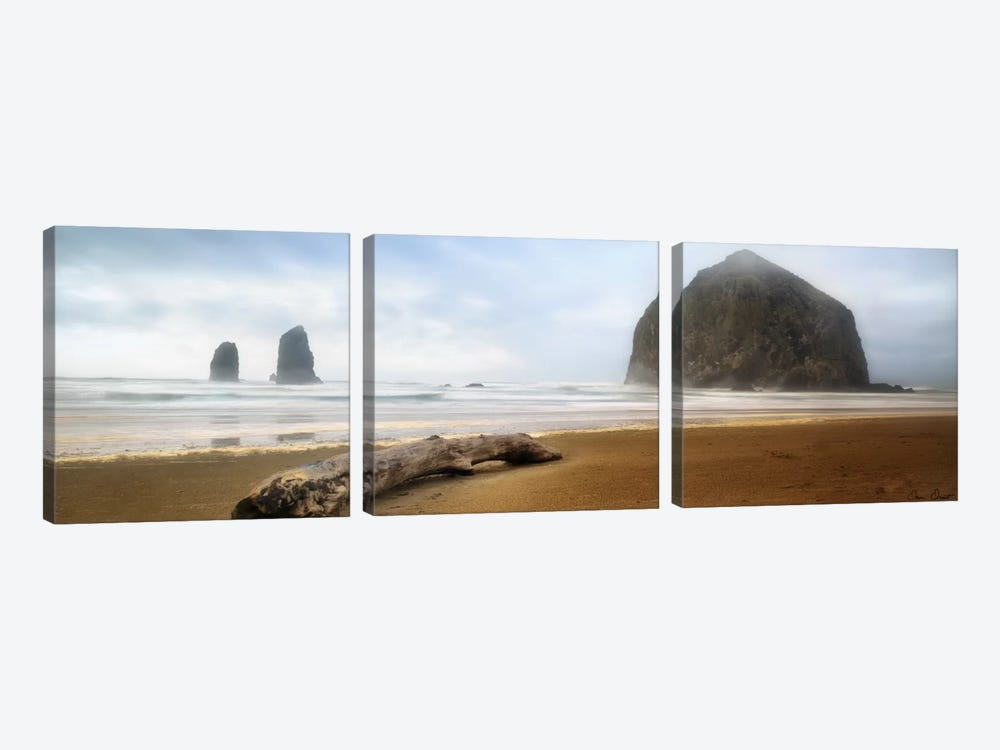 From Cannon Beach II by David Drost 3-piece Canvas Wall Art