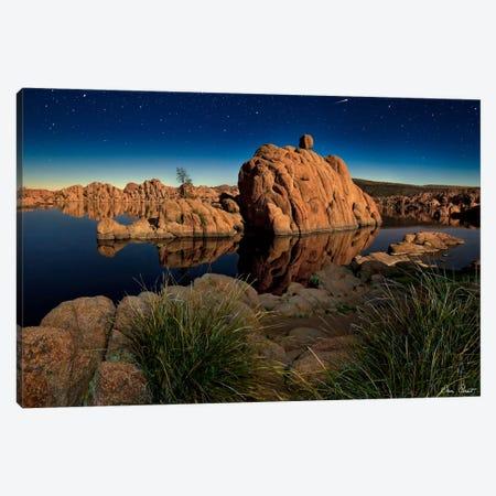 Lake Canyon View I Canvas Print #DDR39} by David Drost Canvas Art Print