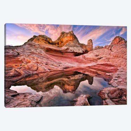 Arizona Reflection I Canvas Print #DDR3} by David Drost Art Print