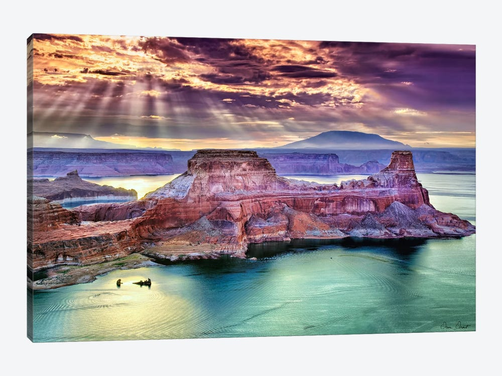 Lake Canyon View II by David Drost 1-piece Art Print