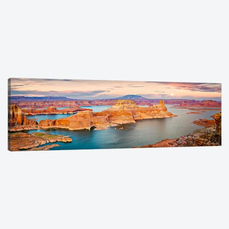 Lake Canyon View III Canvas Print #DDR41} by David Drost Canvas Art