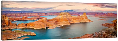 Lake Canyon View III Canvas Art Print