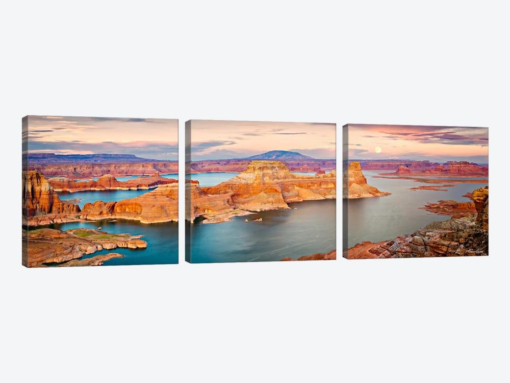 Lake Canyon View III by David Drost 3-piece Canvas Art