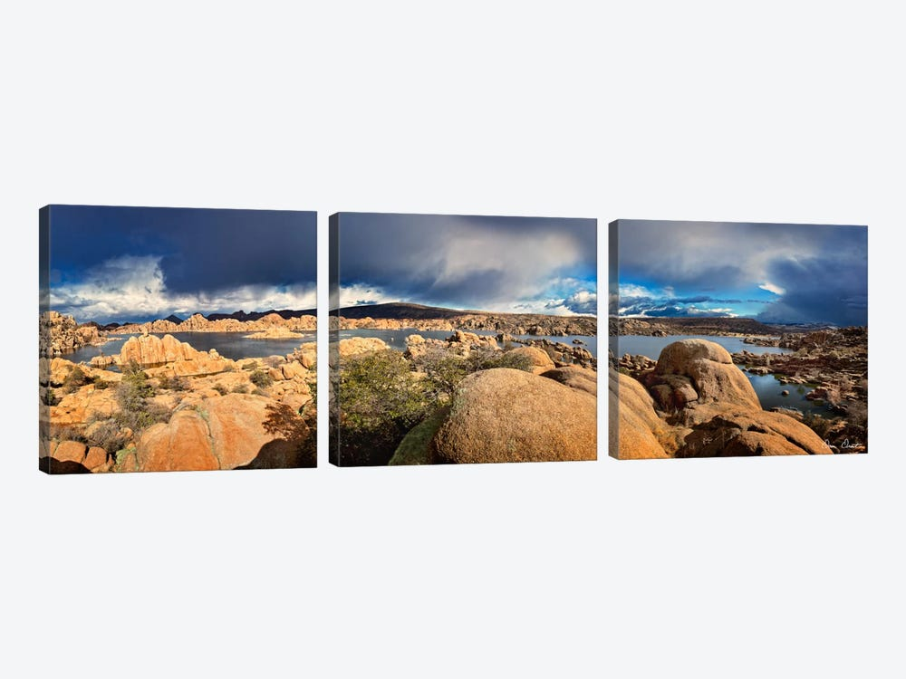 Lake Canyon View IV 3-piece Art Print