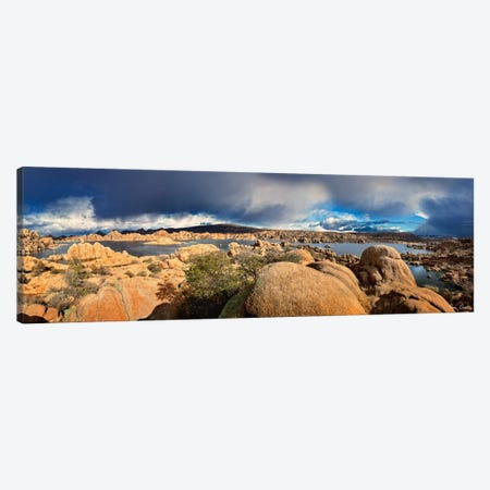 Lake Canyon View IV Canvas Print #DDR42} by David Drost Canvas Wall Art