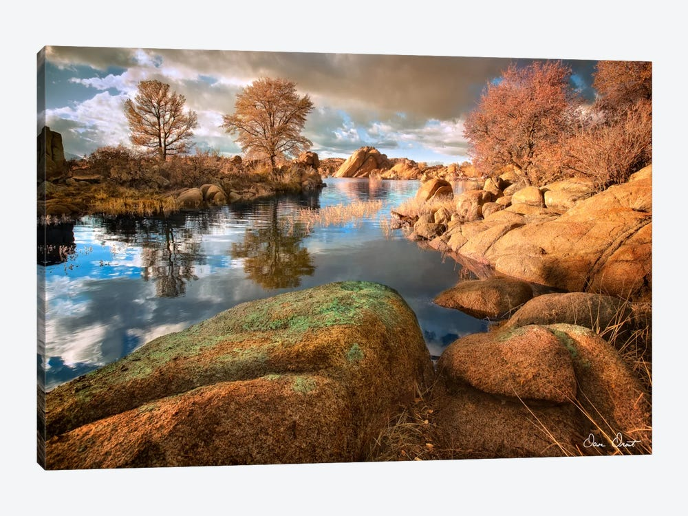 Rocky Lake I by David Drost 1-piece Art Print