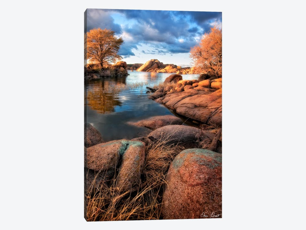 Rocky Lake II by David Drost 1-piece Canvas Artwork