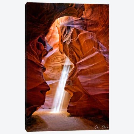 Sun Shining Through Canyon III Canvas Print #DDR55} by David Drost Canvas Wall Art