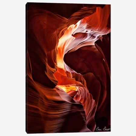Sun Shining Through Canyon IV Canvas Print #DDR56} by David Drost Canvas Art