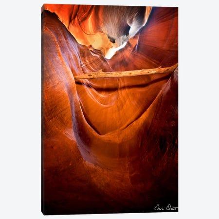 Sun Shining Through Canyon V Canvas Print #DDR57} by David Drost Canvas Art
