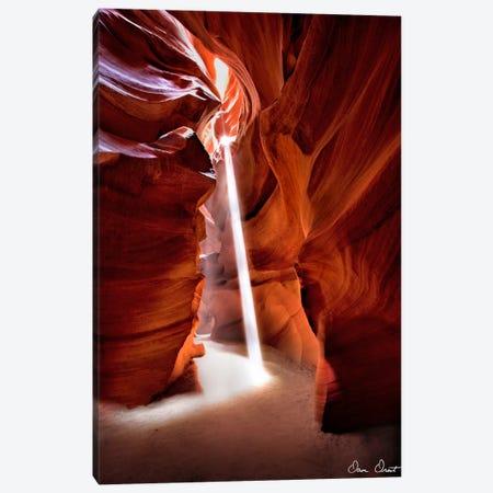 Sun Shining Through Canyon VI Canvas Print #DDR58} by David Drost Canvas Print