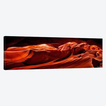 Sun Shining Through Canyon VIII Canvas Print #DDR60} by David Drost Canvas Art