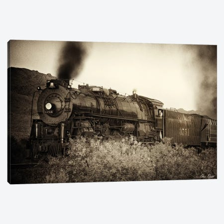Train Arrival I Canvas Print #DDR68} by David Drost Canvas Wall Art