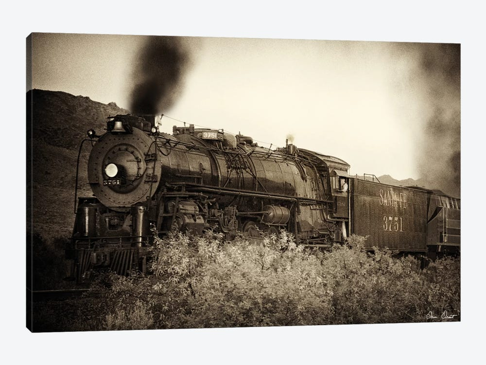 Train Arrival I by David Drost 1-piece Canvas Art Print