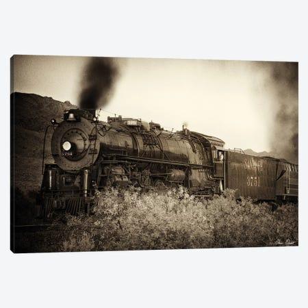 Train Arrival I Canvas Print #DDR68} by David Drost Canvas Wall Art