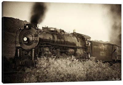 Train Arrival I Canvas Art Print