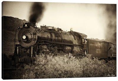 Train Arrival I Canvas Art Print