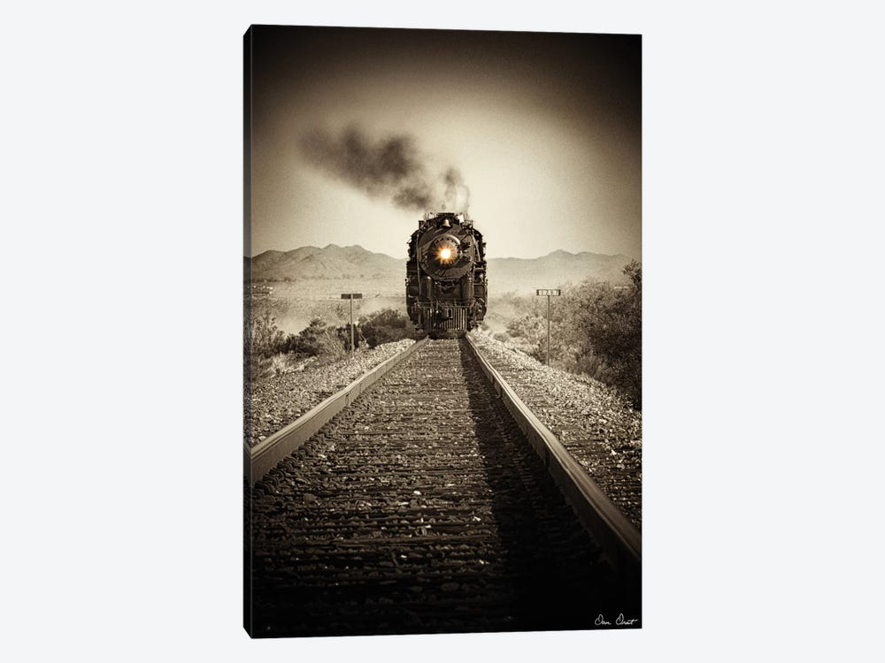 Train Arrival II by David Drost 1-piece Canvas Artwork