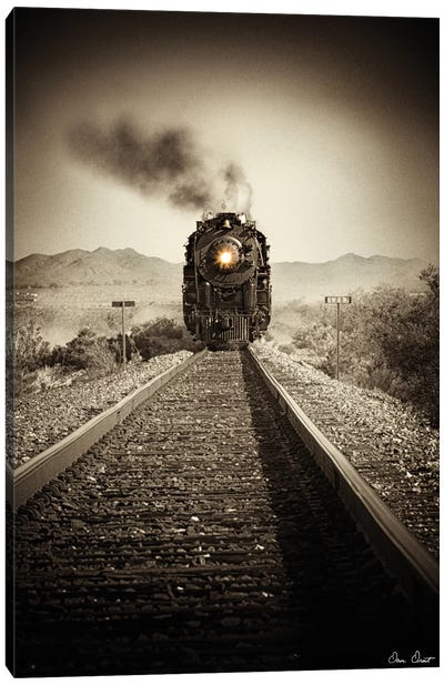 Train Arrival II Canvas Art Print