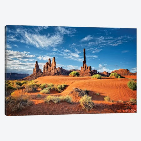Valley Beauty V Canvas Print #DDR75} by David Drost Canvas Wall Art