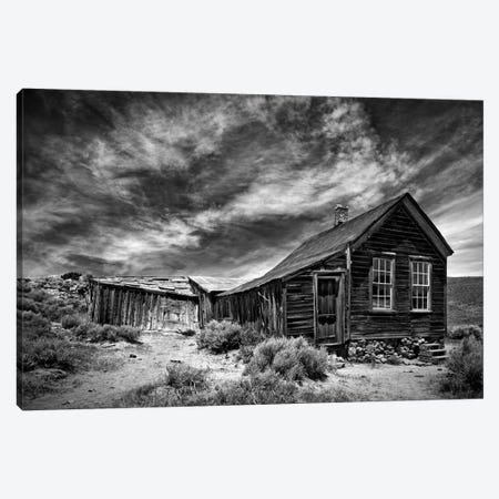 B&W Desert View III Canvas Print #DDR9} by David Drost Canvas Art Print