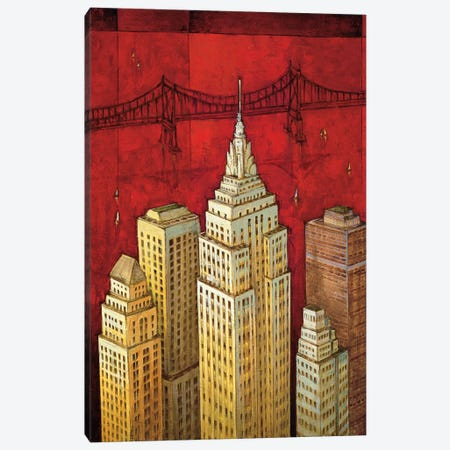 NYC I Canvas Print #DDS1} by David Stewart Canvas Wall Art