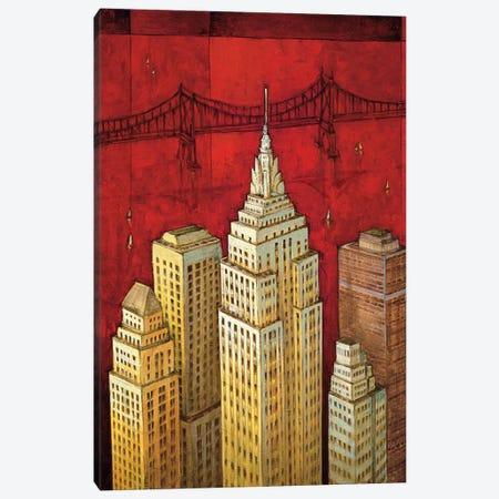 NYC I Canvas Print #DDS1} by David Stewart Canvas Wall Art