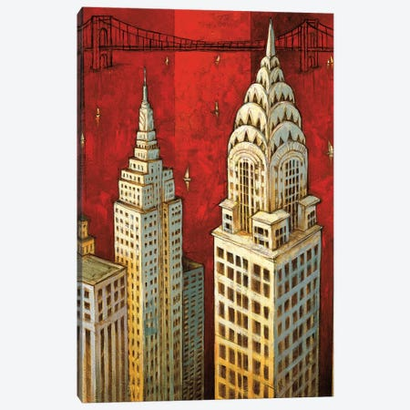 NYC II Canvas Print #DDS2} by David Stewart Canvas Art