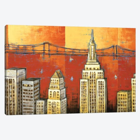 Manhattan I Canvas Print #DDS3} by David Stewart Canvas Artwork