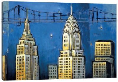 Manhattan II Canvas Art Print