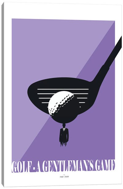 Golf Canvas Art Print