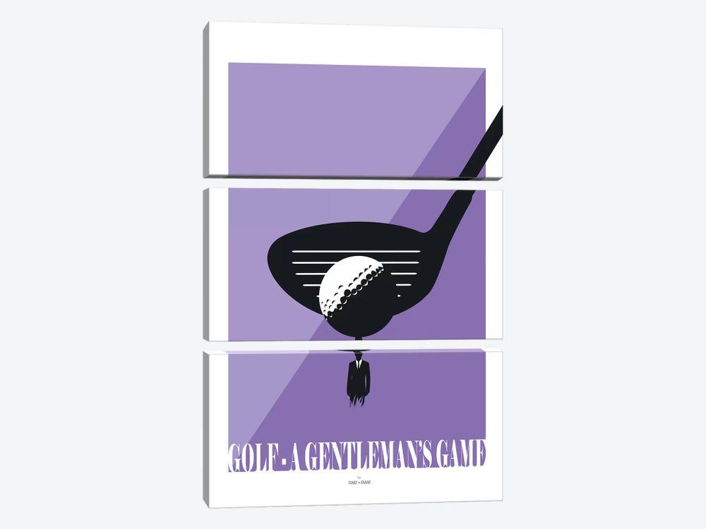 Golf by DAU-DAW 3-piece Canvas Art