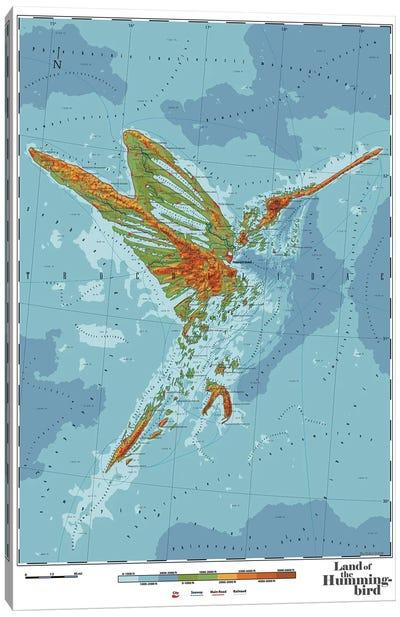 Kolibri Canvas Art Print